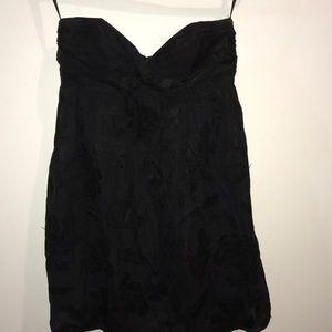 Milly of NY black strapless dress
